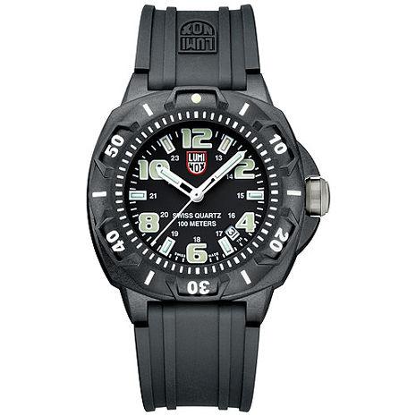 LUMINOX 雷明時 前哨系列腕錶-美國限定版-黑x白時標/43mm A0201.SL