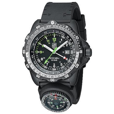 LUMINOX雷明時 特殊偵察RECON藍寶石水晶指南針腕錶 8831.KM