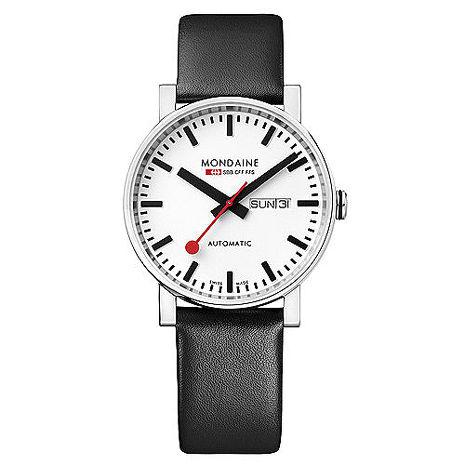 MONDAINE 瑞士國鐵經典機械錶/40mm (132311)