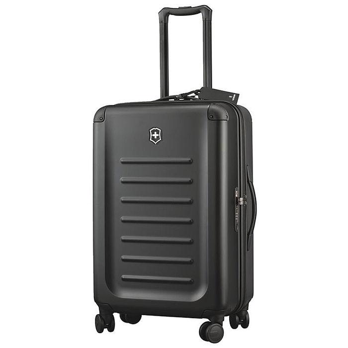 VICTORINOX 瑞士維氏Spectra 2.0輕量級霧面26吋硬殼行李箱-黑/紅  2色任選-戶外.婦幼.食品保健-myfone購物