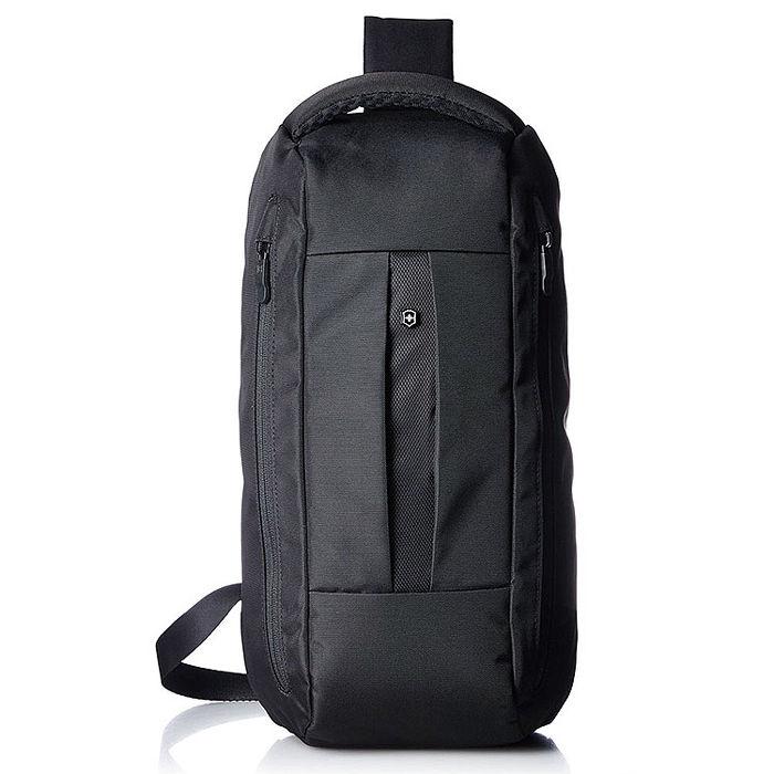 VICTORINOX 瑞士維氏TA4.0平板單肩後背包-黑 31174701