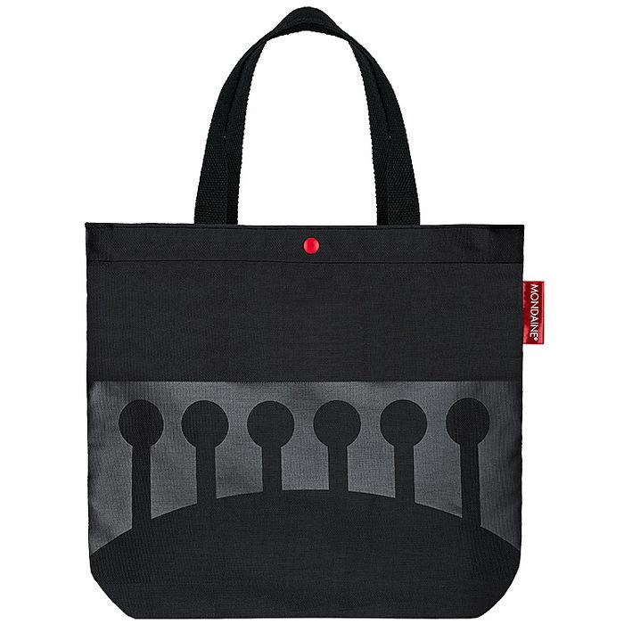 MONDAINE 瑞士國鐵限量瑞士拱橋帆布手提袋-美妝‧保養‧香氛‧精品-myfone購物