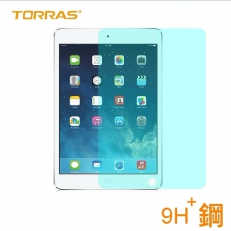 【TORRAS】APPLE iPad Air / iPad 5 防爆鋼化玻璃貼 G PE 系列 9H硬度 2.5D導角 0.3MM 弧面切割