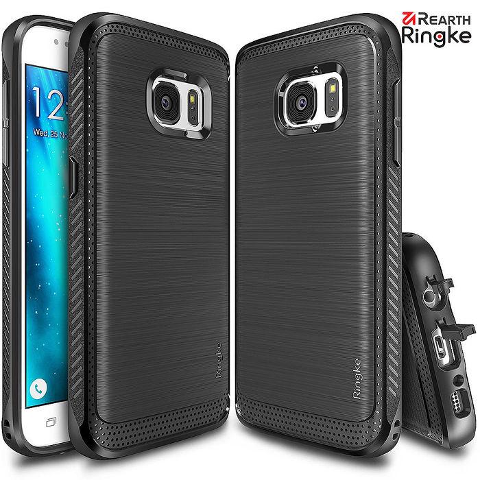 【Rearth Ringke】三星 Galaxy S7 / S7 Edge Onyx 防撞緩衝手機殼