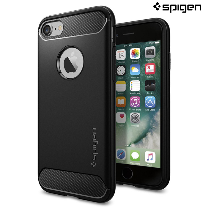 【SGP / Spigen】iPhone 7 Rugged Armor 強化吸震軟式手機殼