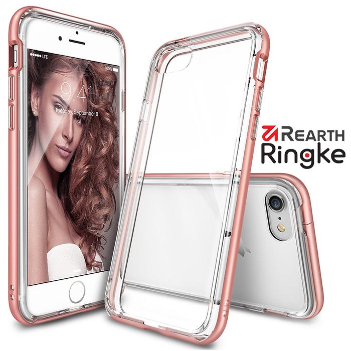 Rearth RingkeiPhone 7(4.7)[Ringke Frame]防撞邊框透明背蓋手機殼