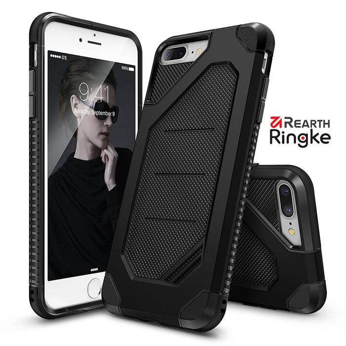 【Rearth Ringke】iPhone 7 Plus (5.5) [Ringke Max] 雙層吸震防摔空壓手機殼