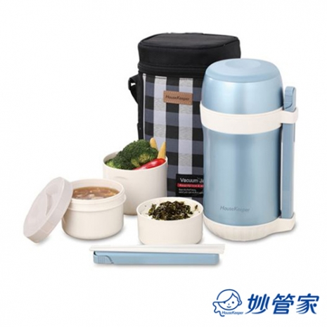 主題-妙管家 1.5L 超真空保溫餐盒組 HK-3315