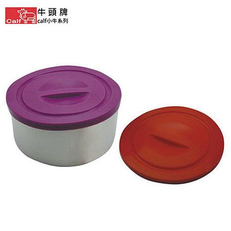 【牛頭牌】小牛系列-304不鏽鋼環保雙層不鏽鋼滿意碗+蓋 DL-0052