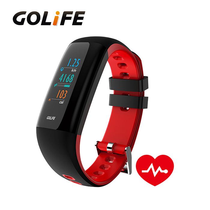 GOLiFE Care-XC 智慧全彩觸控心率手環★送純棉運動健身毛巾★