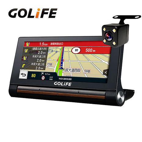 GOLiFE GoPad X 智慧四合一中控行車導航平板(內附後鏡頭)★送16G+折疊袋★
