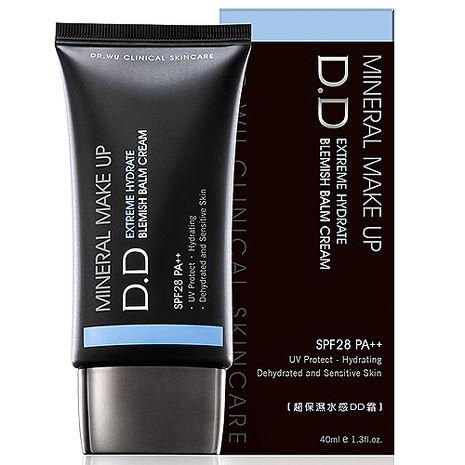 【DR.WU】超保濕水感DD霜SPF28 PA++ 40ml