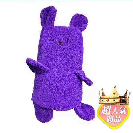 【點子樂活】 Holism卡哇伊 兔子寶寶毯-夢幻紫