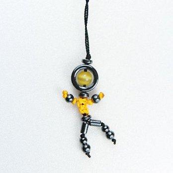 防小人招貴人開運吊飾-黃水晶(黃)
