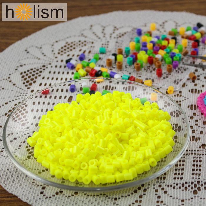 (任選滿300元出貨)【Holism】拼豆補充包-螢光黃