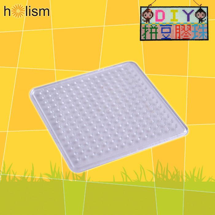 (任選滿300元出貨)【Holism】方形拼豆造型盤(小)