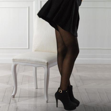 【OLady】 裘丹琦60丹保健型彈性襪-絲襪黑2雙入
