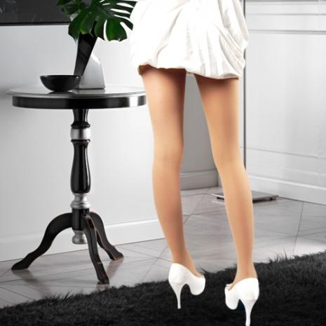 【OLady】 裘丹琦160丹保健型彈性襪-絲襪膚2雙入