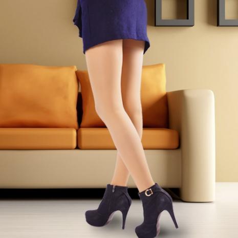 【OLady】 裘丹琦180丹保健型彈性襪-絲襪膚2雙入