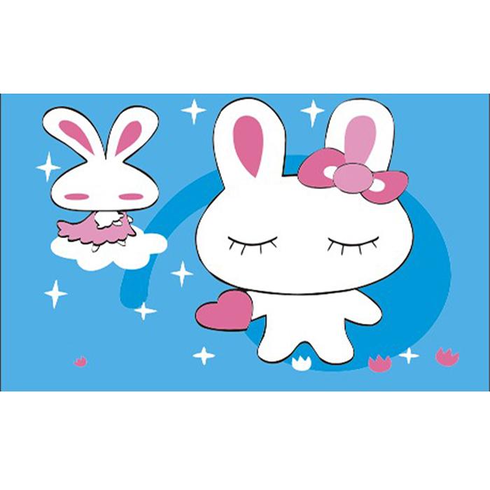 【Holism】數字油畫- 可愛小兔10x15cm