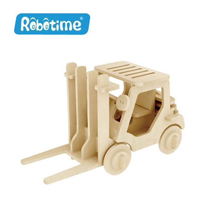 【Robotime】DIY木質3D立體拼圖-堆高機