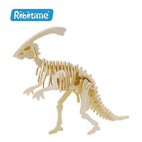 【Robotime】DIY木質3D立體拼圖-復捷龍-居家日用.傢俱寢具-myfone購物