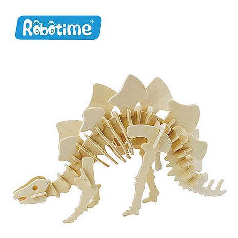 【Robotime】DIY木質3D立體拼圖-小劍龍-居家日用.傢俱寢具-myfone購物