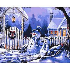~Holism~數字油畫~聖誕夜 40x50cm