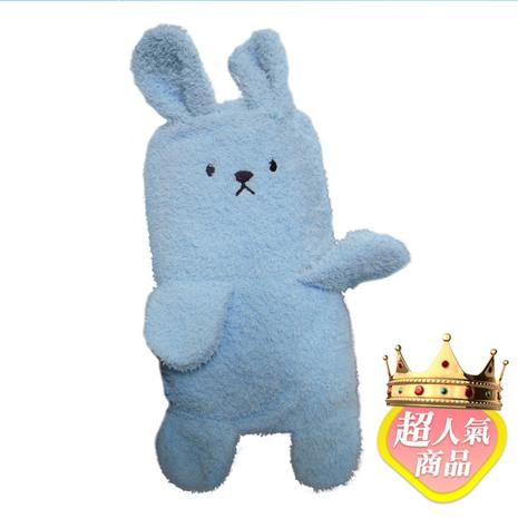 【Holism】卡哇伊 兔子寶寶毯-粉藍