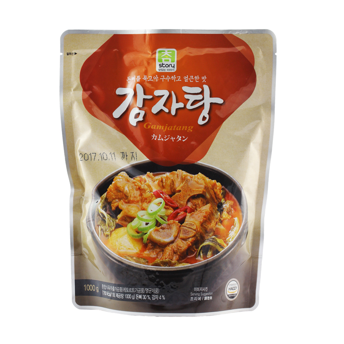 【韓璧食府】真韓 馬鈴薯豬骨湯(1KG/包)