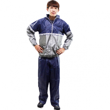 SHUN PEN 高彈性 二件式休閒風雨衣 *促銷下殺*2XL