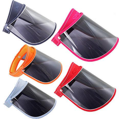 OMAX調整型超大帽沿遮陽帽-3入