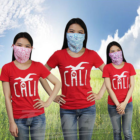omax粉彩超輕防曬透氣口罩-3入(隨機出貨)-服飾‧鞋包‧內著‧手錶-myfone購物