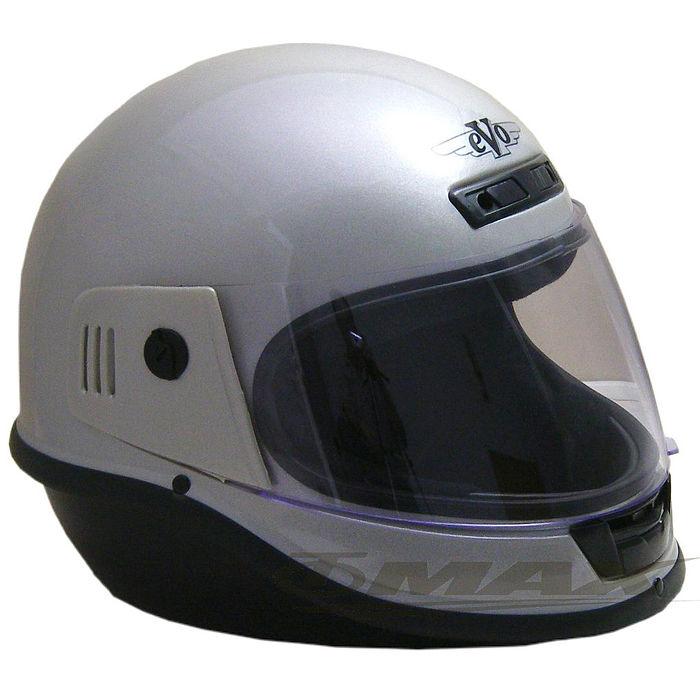 EVO全罩式安全帽-銀色+6入不織布內襯套