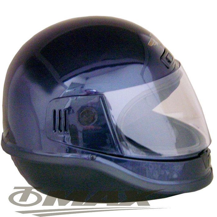 EVO全罩式安全帽-黑色+6入不織布內襯套
