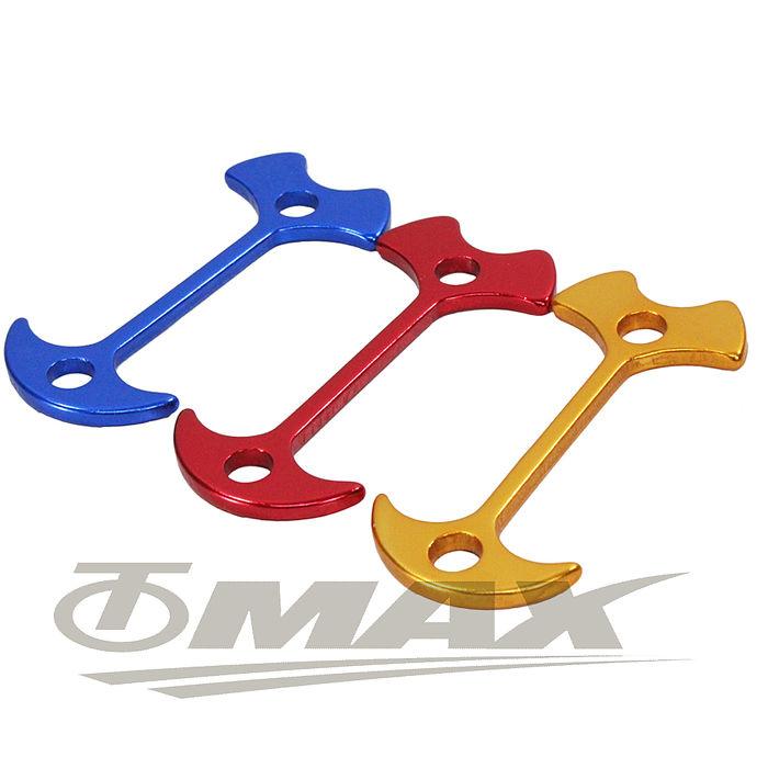 omax鋁合金魚骨地釘-加長版-20入(顏色隨機)