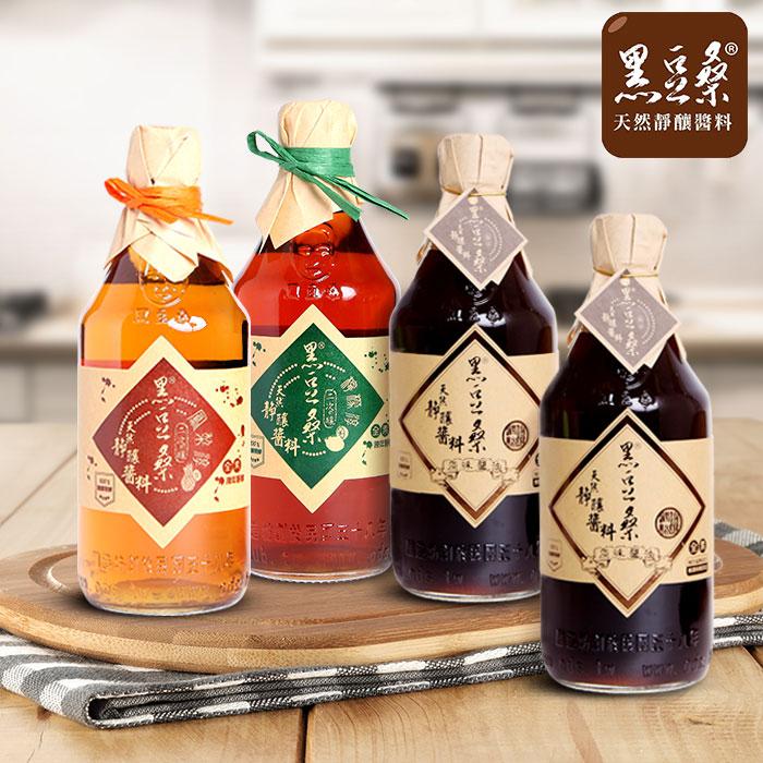 【黑豆桑】清涼甘醇組(原味x2+鳳梨淳x1+檸檬淳x1)