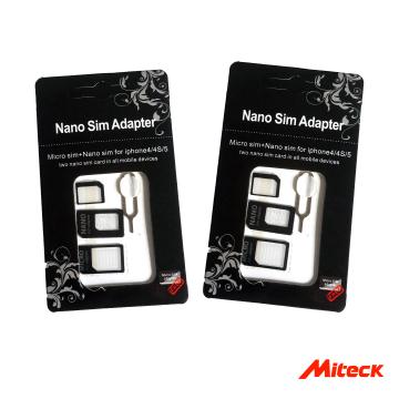 Miteck 手機SIM卡三合一轉接卡組合