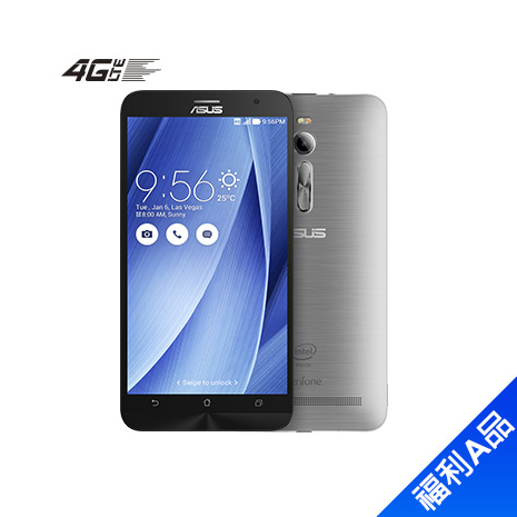 ASUS Zenfone2 ZE551ML_4G Ram_32G-(灰)【拆封福利品A級】