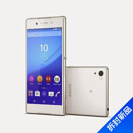 Sony Xperia Z3+ plus-(白)【拆封新品】