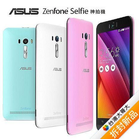 ASUS Zenfone Selfie ZD551KL 16G 5.5吋智慧型手機(黑)【拆封新品】(福利品)