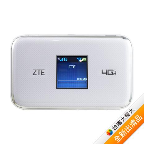 【ZTE】MF970 LTE多工行動網卡-白(福利品)