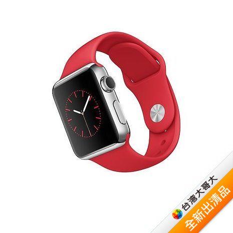 Apple Watch 38 Series 1 特別版 (不鏽鋼錶殼搭紅色運動錶帶)【全新出清品】(福利品)