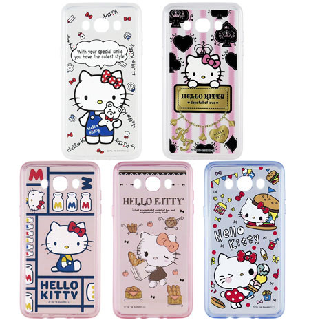 【Miravivi】Samsung J7 2016 Hello Kitty保護套(款式隨機出貨)