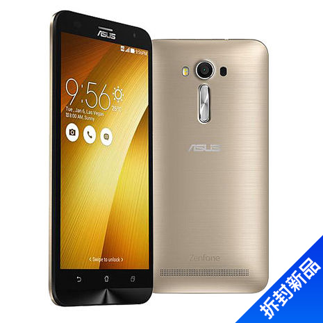 ASUS ZenFone 2 Laser 5.5 吋 HD 八核心 4G LTE 手機(ZE550KL 2G/32G) - (髮絲金)【拆封新品】