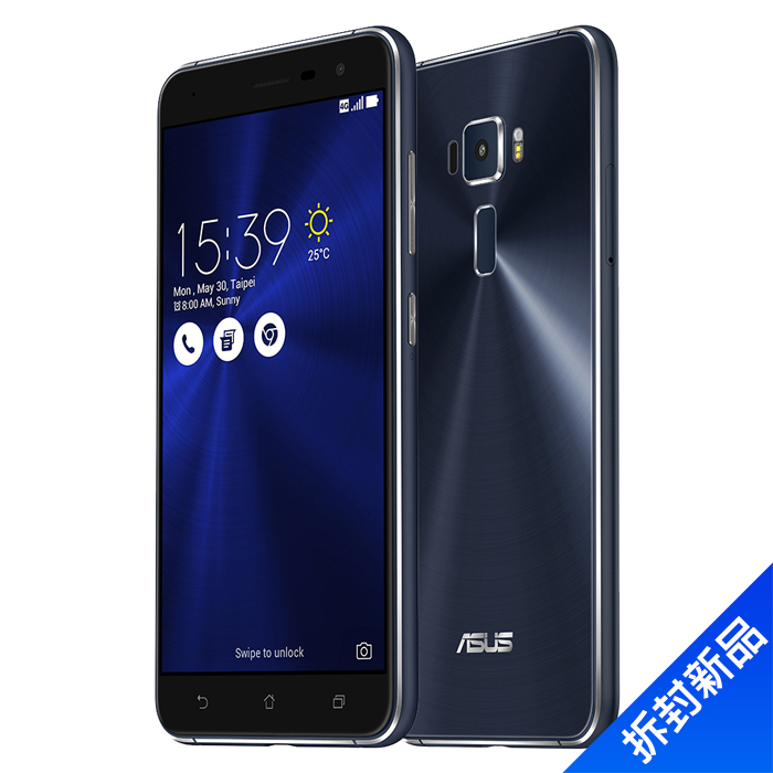 ASUS ZenFone 3(ZE552KL)_64G-(黑藍)【拆封新品】