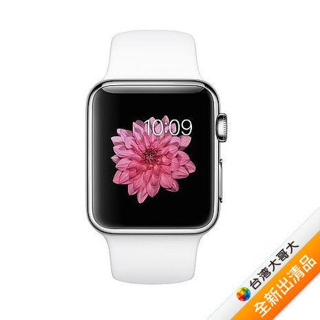 Apple Watch 42 Series 1 特別版 (不鏽鋼錶殼搭珍珠色運動錶帶)【全新出清品】