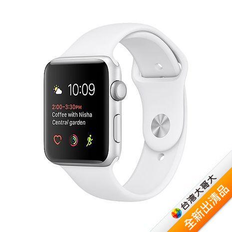 Apple Watch 42 Series 1 特別版 (不鏽鋼錶殼搭白色運動錶帶) 【全新出清品】(福利品)