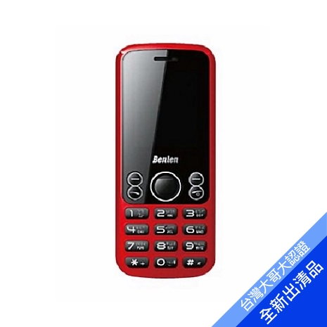 Benten W128 直立式手機 (紅) (3G)【全新出清品】