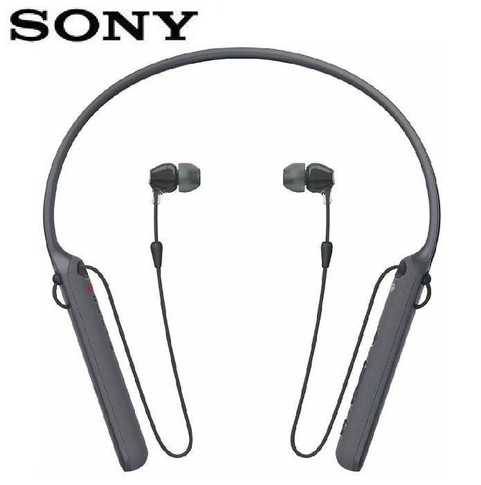 【快速出貨】SONY WI-C400 無線藍牙頸掛式耳機-黑
